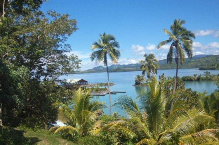 The club house on the lagoon and Bay, Fiji land for sale