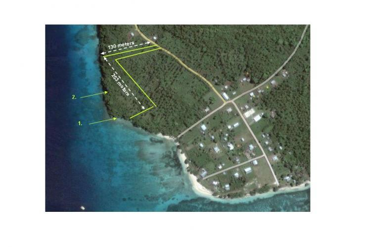 900 plus ft of waterfront with sea pool $39.9k US, Tonga ...