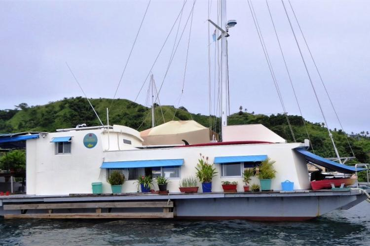 Houseboat for sale in Savusavu, Fiji Islands, South Pacific