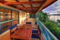 Large decks both floors, HAKULA LODGE, Vavau, Tonga