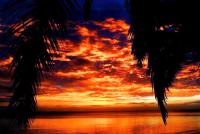 Bay of Angels Sunset, Nuku Fiji Resort for sale