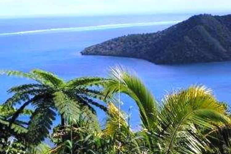 View from top, Nuku Fiji Resort for sale